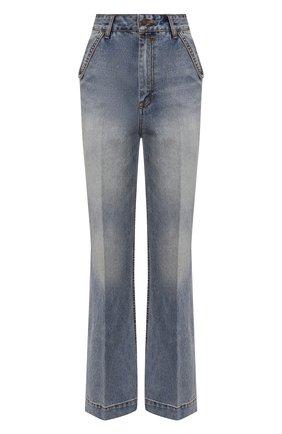 Женские джинсы ZIMMERMANN голубого цвета, арт. 9239PB0T   Фото 1