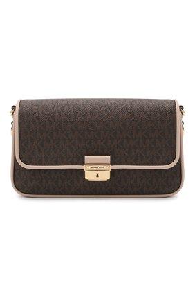 Женская сумка bradshaw MICHAEL MICHAEL KORS коричневого цвета, арт. 30S1G2BL1B | Фото 1