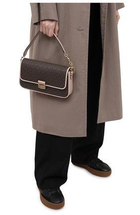 Женская сумка bradshaw MICHAEL MICHAEL KORS коричневого цвета, арт. 30S1G2BL1B | Фото 2