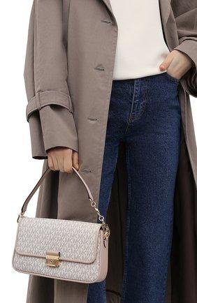 Женская сумка bradshaw MICHAEL MICHAEL KORS бежевого цвета, арт. 30S1G2BL1B | Фото 2