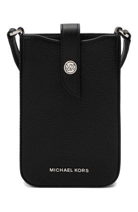 Женская сумка mk charm MICHAEL MICHAEL KORS черного цвета, арт. 32S1G0KC1L | Фото 1