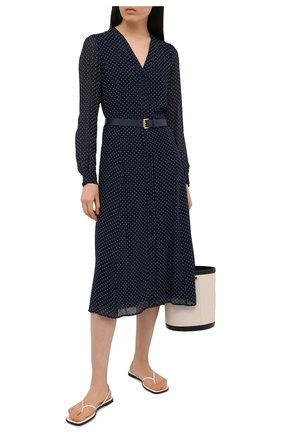 Женское платье из вискозы MICHAEL MICHAEL KORS синего цвета, арт. MS18Y461BU | Фото 2