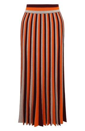 Женская шерстяная юбка GABRIELA HEARST разноцветного цвета, арт. 221915 A002 | Фото 1