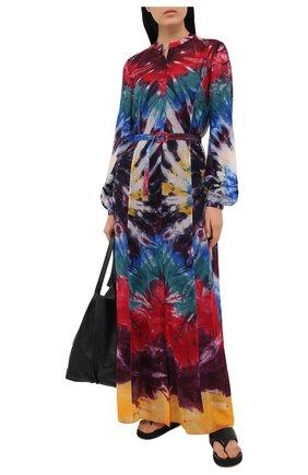 Женское кашемировое платье GABRIELA HEARST разноцветного цвета, арт. 221426 C036 | Фото 2