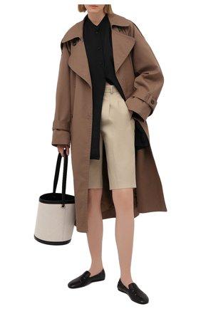 Женские кожаные лоферы MAISON MARGIELA черного цвета, арт. S58WR0093/PR869   Фото 2