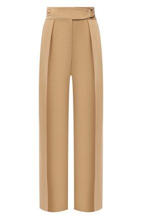 Женские брюки NANUSHKA бежевого цвета, арт. 0TT0LIE_STRAW_FSC TENCEL | Фото 1