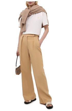 Женские брюки NANUSHKA бежевого цвета, арт. 0TT0LIE_STRAW_FSC TENCEL | Фото 2