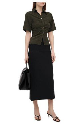 Женские кожаные мюли etoile ELLEME черного цвета, арт. ET0ILE HEEL/LEATHER | Фото 2