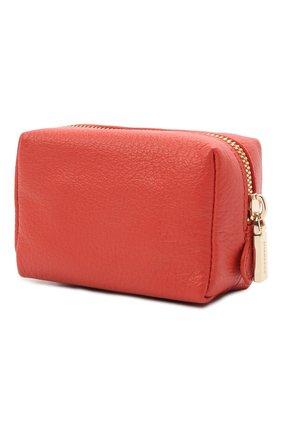 Женская кожаная косметичка COCCINELLE красного цвета, арт. E5 HV0 25 F8 21   Фото 2