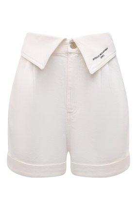 Женские джинсовые шорты STELLA MCCARTNEY белого цвета, арт. 603007/S0H40 | Фото 1