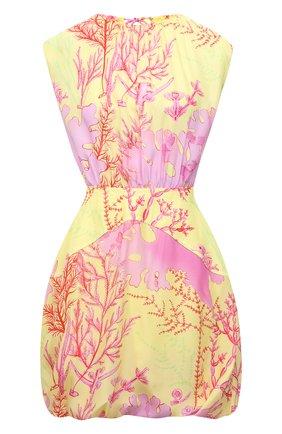 Женское шелковое платье STELLA MCCARTNEY разноцветного цвета, арт. 603184/SRA59 | Фото 1