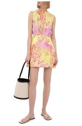 Женское шелковое платье STELLA MCCARTNEY разноцветного цвета, арт. 603184/SRA59 | Фото 2