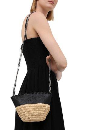 Женская сумка falabella STELLA MCCARTNEY черного цвета, арт. 700226/W8805   Фото 2
