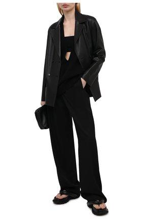 Женский кашемировый жилет DRIES VAN NOTEN черного цвета, арт. 211-11252-2704 | Фото 2