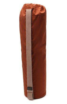 Женского коврик для йоги LORO PIANA красного цвета, арт. FAI9554 | Фото 2 (Материал: Кашемир, Шерсть)