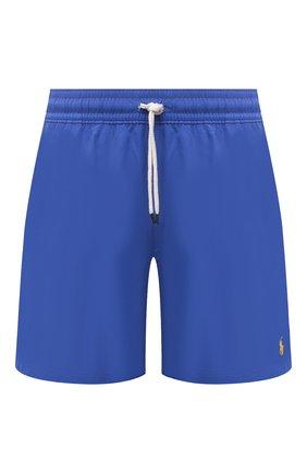 Мужские плавки-шорты POLO RALPH LAUREN синего цвета, арт. 710829851 | Фото 1