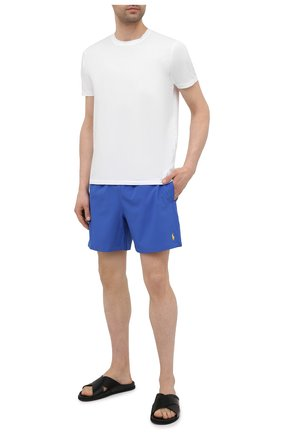 Мужские плавки-шорты POLO RALPH LAUREN синего цвета, арт. 710829851 | Фото 2