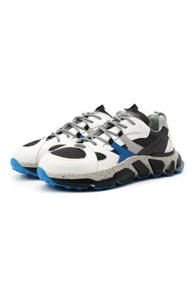 Мужские комбинированные кроссовки ICEBERG разноцветного цвета, арт. NIU1401A/HER0 | Фото 1