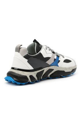 Мужские комбинированные кроссовки ICEBERG разноцветного цвета, арт. NIU1401A/HER0 | Фото 4