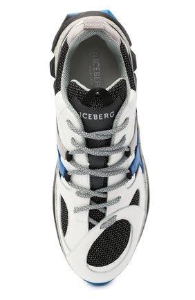 Мужские комбинированные кроссовки ICEBERG разноцветного цвета, арт. NIU1401A/HER0 | Фото 5