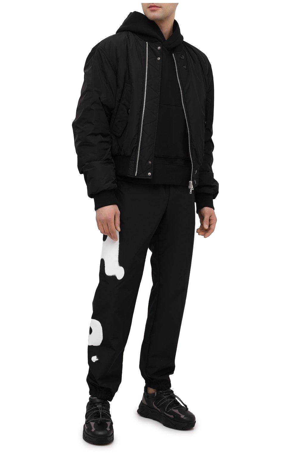 Мужские кожаные кроссовки ICEBERG черного цвета, арт. NIU1404A/SETA C0L0R | Фото 2