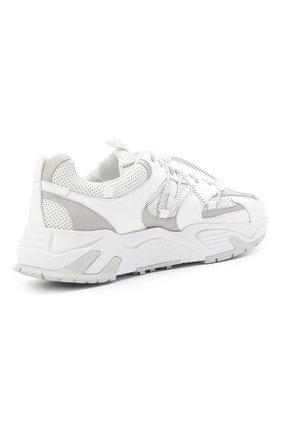 Мужские кожаные кроссовки ICEBERG белого цвета, арт. NIU1404A/SETA C0L0R | Фото 4