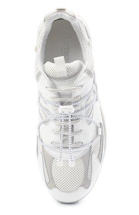 Мужские кожаные кроссовки ICEBERG белого цвета, арт. NIU1404A/SETA C0L0R | Фото 5