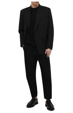 Мужские кожаные дерби pimion BALLY черного цвета, арт. PIMI0N/40 | Фото 2 (Стили: Классический; Материал внутренний: Натуральная кожа)