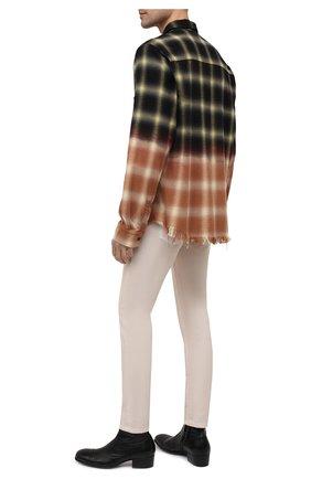 Мужские кожаные сапоги ROCCO P. черного цвета, арт. 12040G/TRIP0N   Фото 2