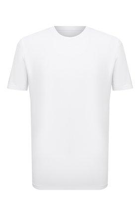 Мужская хлопковая футболка MAISON MARGIELA белого цвета, арт. S50GC0622/S22533 | Фото 1 (Материал внешний: Хлопок; Длина (для топов): Стандартные; Принт: Без принта; Рукава: Короткие; Стили: Минимализм)