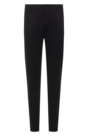 Мужские брюки TRANSIT черного цвета, арт. CFUTRNF150 | Фото 1