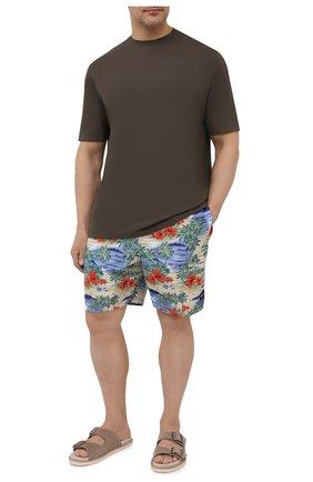 Мужские плавки-шорты PAUL&SHARK разноцветного цвета, арт. 21415030/FH4   Фото 2