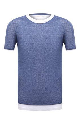 Мужская футболка DANIELE FIESOLI синего цвета, арт. DF 0366/J | Фото 1