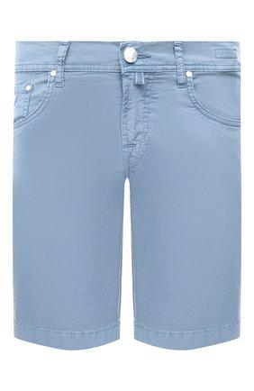 Мужские джинсовые шорты JACOB COHEN голубого цвета, арт. J6636 C0MF 06510-V/55   Фото 1