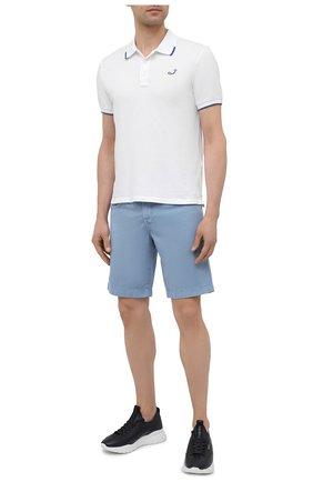 Мужские джинсовые шорты JACOB COHEN голубого цвета, арт. J6636 C0MF 06510-V/55   Фото 2