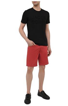 Мужские джинсовые шорты JACOB COHEN красного цвета, арт. J6636 C0MF 06510-V/55   Фото 2