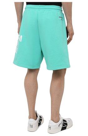 Мужские хлопковые шорты PHARMACY INDUSTRY бирюзового цвета, арт. PHM206 | Фото 4