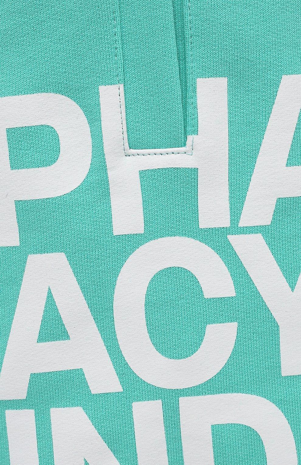 Мужские хлопковые шорты PHARMACY INDUSTRY бирюзового цвета, арт. PHM206 | Фото 5