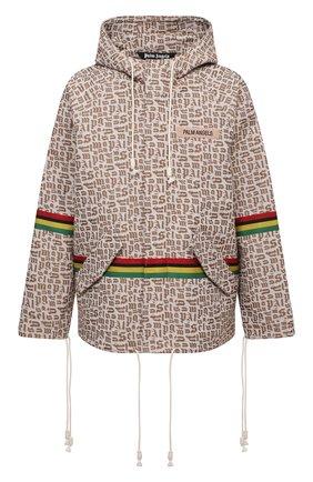 Мужская куртка PALM ANGELS бежевого цвета, арт. PMEA155S21FAB0036110   Фото 1