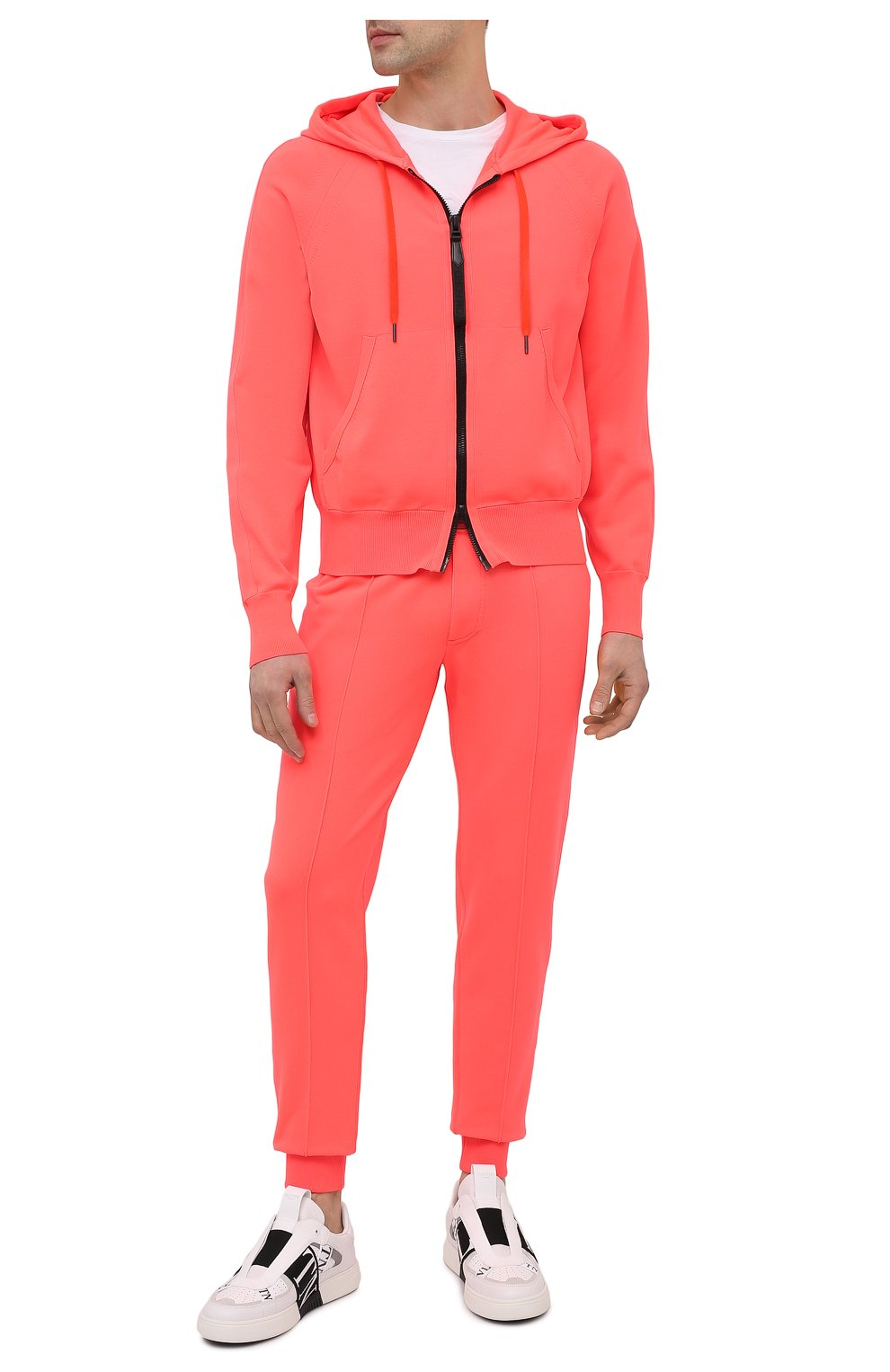 Мужской толстовка TOM FORD оранжевого цвета, арт. BWY22/TFK154   Фото 2