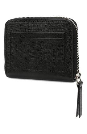 Мужской кожаный кошелек для монет DSQUARED2 черного цвета, арт. WAM0009 01501209 | Фото 2