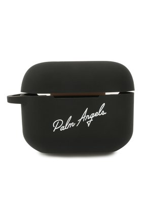 Чехол для airpods pro PALM ANGELS черного цвета, арт. PMZA004S21PLA0021001 | Фото 1