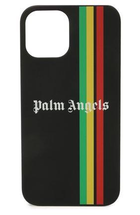 Чехол для iphone 12 pro max PALM ANGELS черного цвета, арт. PMPA031S21PLA0021001 | Фото 1