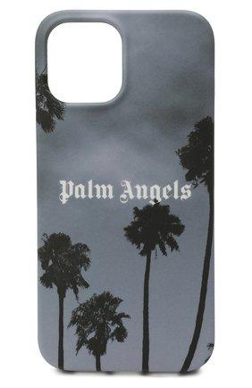 Чехол для iphone 12 pro max PALM ANGELS серого цвета, арт. PMPA031S21PLA0011001 | Фото 1