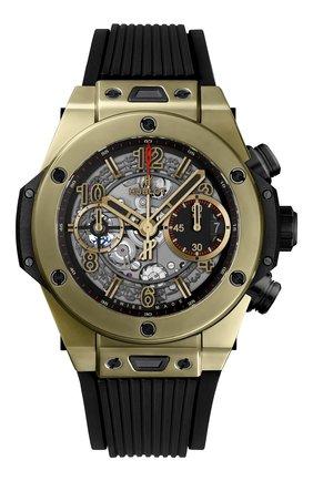 Мужские часы unico full magic gold HUBLOT золотого цвета, арт. 441.MX.1138.RX | Фото 1