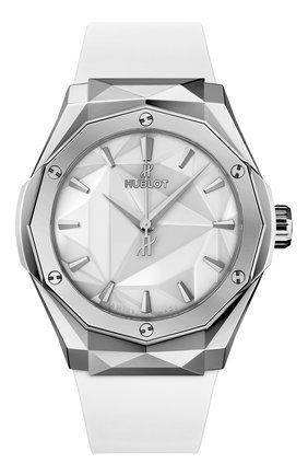 Мужские часы orlinski king titanium white HUBLOT белого цвета, арт. 550.NS.2200.RW.ORL20 | Фото 1
