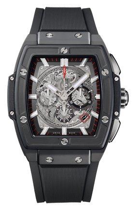 Мужские часы black magic HUBLOT черного цвета, арт. 601.CI.0173.RX | Фото 1