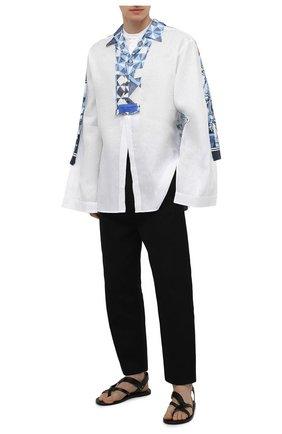 Мужская рубашка DOLCE & GABBANA белого цвета, арт. G5I03T/GEQ37 | Фото 2