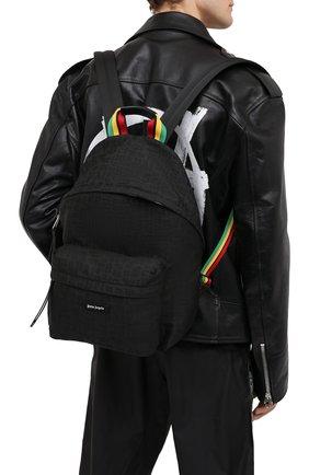 Мужской текстильный рюкзак PALM ANGELS черного цвета, арт. PMNB012S21FAB0051010 | Фото 2
