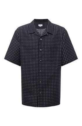 Рубашка изо льна и хлопка | Фото №1